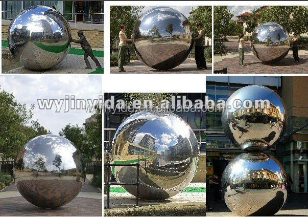 Large metal sphere large ball for sale sculpture ball buy decorative spheres rotating garden - Massieve decoratieve tuin ...