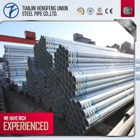 china manufacturing galvanized cs welded steel pipe used in construction