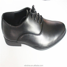 Modern stylish patent PU men official shoes dress shoes for work