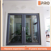 Good Sealing Customized Casement Window Inward Opening Pattern Wih As2047 Standard