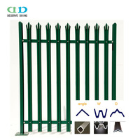 Garden Fencing Panels Steel Fence Post