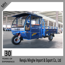 Hot selling Shenlong 1 closed eletric tricycle /three wheel electric tricycle/electric cargo tricycle