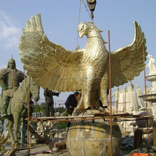 600cm tall Large eagle bronze sculpture foundry