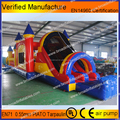 kids playing inflatable amusements games