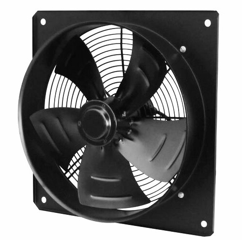 Reasonable price 400mm low noise heat resistance square axial fan
