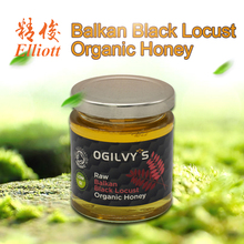 Premium Raw Balkan Black Locust Organic Honey