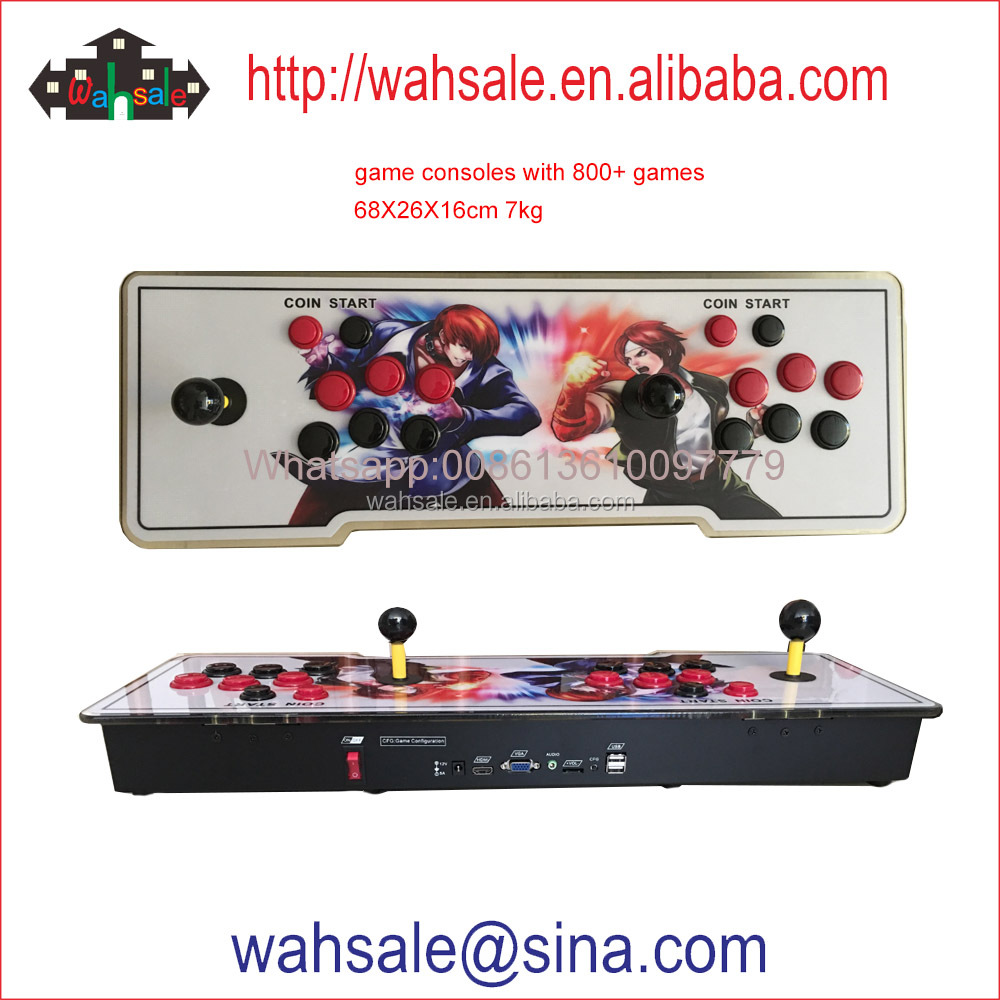 Hot sale free version TV video game console with 800+ classic games