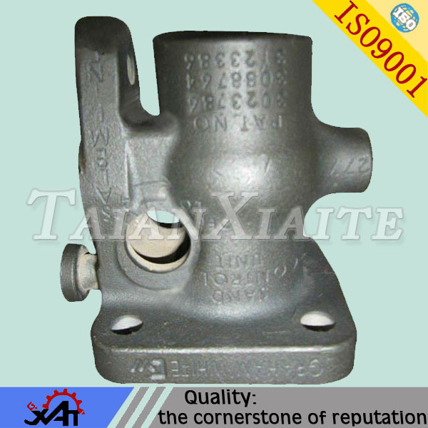 ductile iron casting resin sand casting for auto spare parts cnc machining supporting shoes