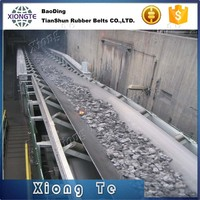 durable rubber coal mining work belt portable material conveyor belt