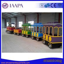 Popular Sightseeing Tour Indoor Electric Trackless Train