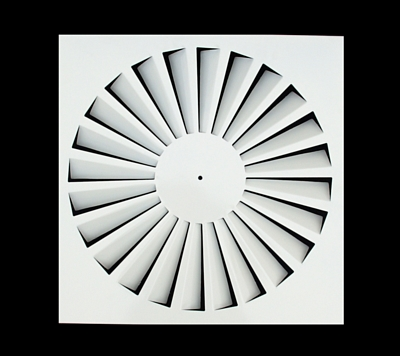 air conditioning metal square swirl air diffuser