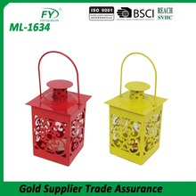 Chinese high quality colorful cheap mini unique tea light spring lantern for featival decoration