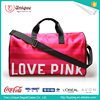 Various color fashion foldable duffle bag cheap luggage bags