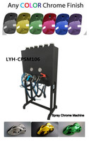 Liquid Image spray painting machine NO. LYH-CPSM106 spray chrome system for repairing or decoration