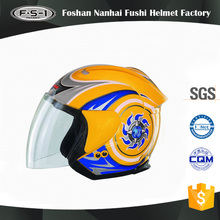 DOT approved ABS material full face helmets with visor motocross helmet open face