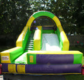 HOLA custom commercial inflatable slide for sale