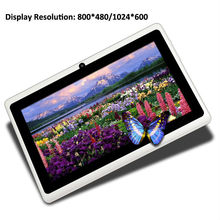tablet pc specifications alibaba express Q88 Allwinner A23 dual core 7 inch android 4.2 mid wifi rugged android tablet