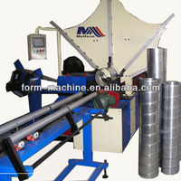 Ventilation duct manufacturing machines