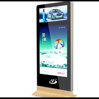 LED scrolling poster display light box free standing scrolling system billboard