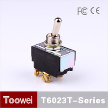 Toowei T600 Series 12mm DPDT ON-OFF heavy duty toggle switch