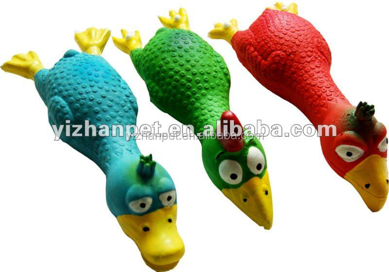 Wholesale Puppy Toy Pet lovely latex chicken