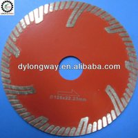 "125mm hot pressed GU turbo 5""diamond saw blade dremel rotary tool metabo power tool accessories cutting tools for granite,marble"