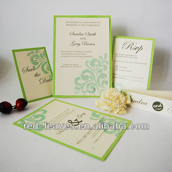 Hotnew Fashion For Promotion Latest Wedding Card Designs