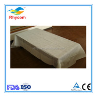 Hot sale disposable surgical pp spunbond nonwoven bed sheet for hotel beauty salon spa and hospital use