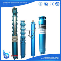 Electric submersible QJ series multistage irrigation water pump
