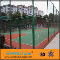 2013 Hot Sale Parking Lot Chain Link Fence Diamond Wire Mesh