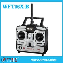 The latest high-tech Remote Control Series WFT06X-B 2.4GHz for RC car/helicopter/airplane/quadcoper/boat/toy/mode