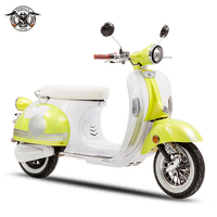 EEC COC classic vintage 1000w 2000w Retro bike electric scooter motorcycle/electric vespa with removable lithium battery