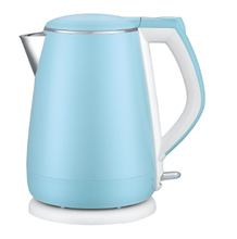 Automatic opening lid custom color 1.5L electric cool touch kettle