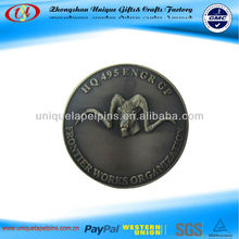 metal novelty coins