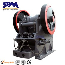 SBM widely used high capacity new jaw crusher for crushing of limestone