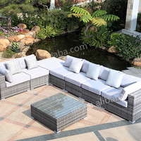 Modular Cane Furniture Outdoor Patio Furniture