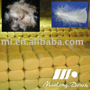 Compressed Package for emplty feathers or dedown feathers