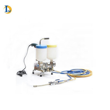 double component electric epoxy grout injection pump