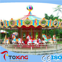 interesting outdoor amusement rides carousel for sale