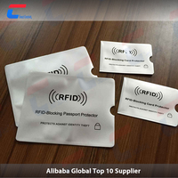 RFID Blocking Credit Card Sleeves - Prevent Identity Theft - Fits Easily Into Any Wallet, Handbag or Phone Case