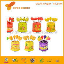 wholesale fruit forks, plastic fork,long dress with open fork