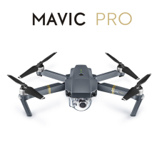 DJI Mavic Pro small drone with 4K camera and 3-axis mechanical gimbal, DJI Mavic Pro