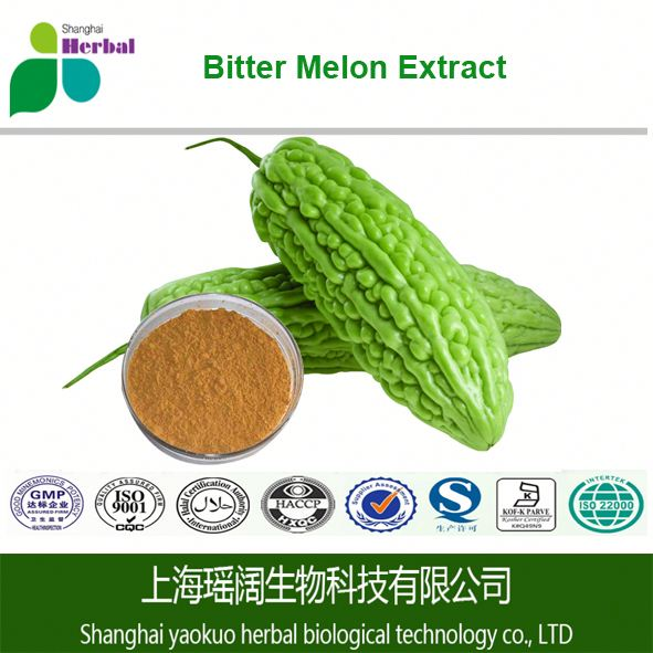 100%Natural Bitter Melon Extract Powder Extraction of Charantin Bitter Melon lose Weight Bitter Melon Extract