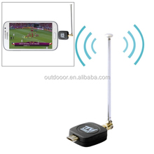 China Wholesale cheap Micro USB 2.0 Mobile Watch DVB-T TV Tuner Stick for Android Phone/Pad(Black)