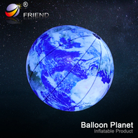 Hot sale solar system nine planets inflatable planets for decoration or advertising