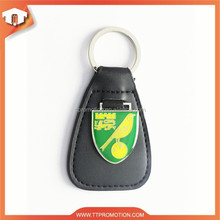 High quality leather keyring with low price