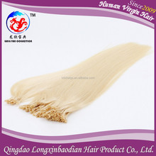 Elastic and comfortable human hair double drawn remy v tip pre-bonded hair extension best quality