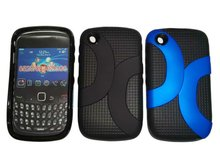 Cell Phone TPU Combo Case For Blackberry 8520 Curve