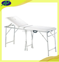 Manual portable adjustable Massage Table/Beauty Bed RJ-6602