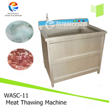 WASC-11 Commercial Washer Vegetable Frozen Meat Thawing Equipment with single tank